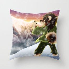 Kangchenjunga Throw Pillow