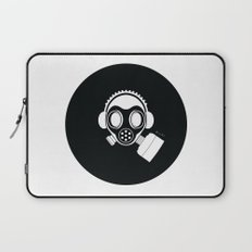 Post World Zuno : Gas Mask 04 Laptop Sleeve