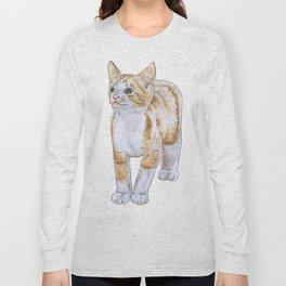 Adorable Kitten Long Sleeve T-shirt