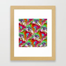 Feelin' Freaky.... Framed Art Print