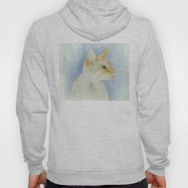 red point siamese cat 1 Hoody