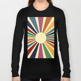 Sun Retro Art II Long Sleeve T-shirt
