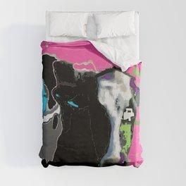 Color Cow Duvet Cover