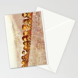 Lunch Atop City Stationery Cards