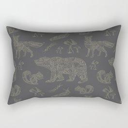 Shafted Woods Rectangular Pillow