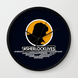 Sherlock lives Wall Clock