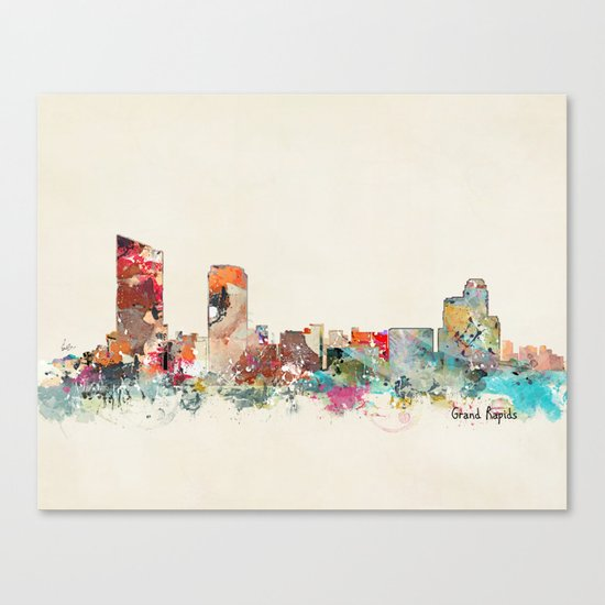grand rapids michigan Canvas Print