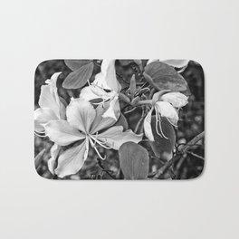 Beautiful butterfly tree flower Bath Mat