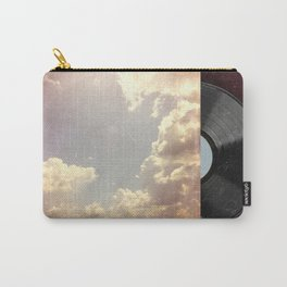 Summer Skies As Vintage Album Art Carry-All Pouch
