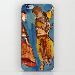 Watercolor Folklore dance Carimbo - joy and fun iPhone Skin