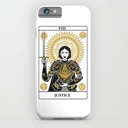 Justice iPhone Case
