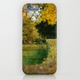 Over the Hedge iPhone Case