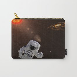 Astronaut And Sun Carry-All Pouch