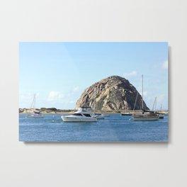 Morro Rock Harbor Metal Print