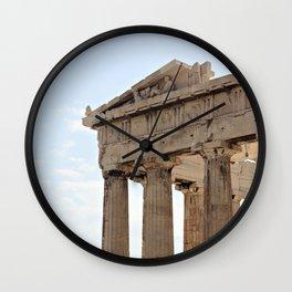 Parthenon. Wall Clock