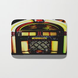Wurlitzer Jukebox  Bath Mat