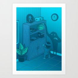 The power of imagination Art Print