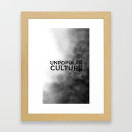 """Seedy Underbelly"" Unpopular Culture Framed Art Print"