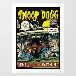 Dangerous DOGG Art Print