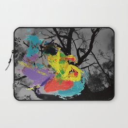 Digital painting collage series #1 Laptop Sleeve