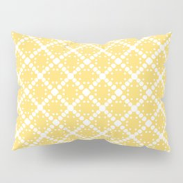 yellow square Pillow Sham