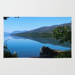 Lake McDonald Impression Rug