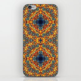 Sacred Flames and Tubes Between iPhone Skin