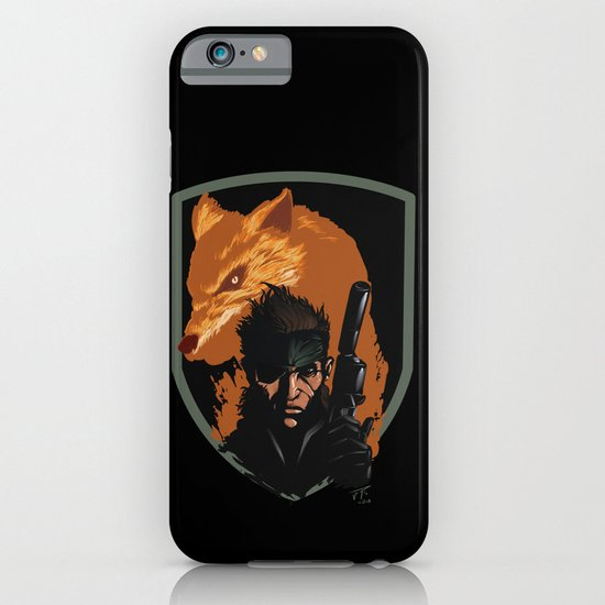METAL GEAR: The Snake and the Fox iPhone & iPod Case