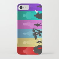 big hero 6 iPhone & iPod Cases featuring The Big Hero 6 by Travis Love