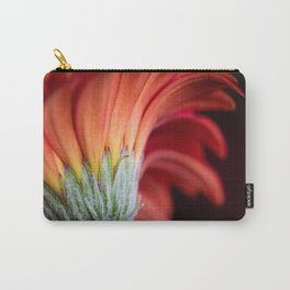 Just like Sunrise; Close-up of Red and Yellow Gerbera Daisy Flower  Carry-All Pouch
