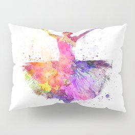 Woman ballerina ballet dancer dancing Pillow Sham