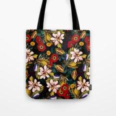 Japanese Floral Pattern Tote Bag