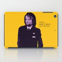 aragorn iPad Cases featuring 2000's Aragorn by LoweakGraph