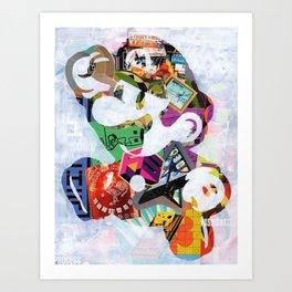 Plumber bro! Art Print