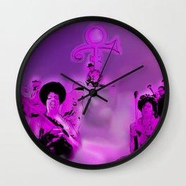 Concert in Heaven Wall Clock