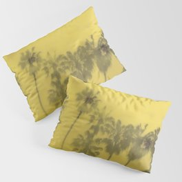 Yellow Palms Pillow Sham