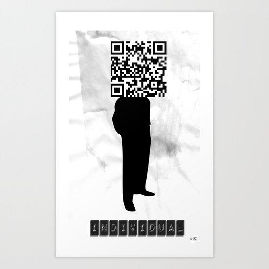 Individual (?!) Art Print