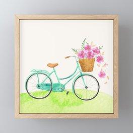Life is a beautiful ride Framed Mini Art Print