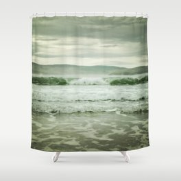 Rolling in (color) Shower Curtain