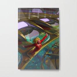 Fledgling Metal Print