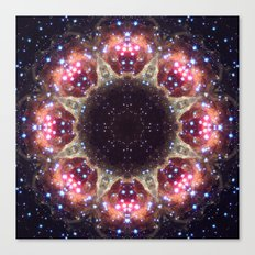 Space Mandala no6 Canvas Print