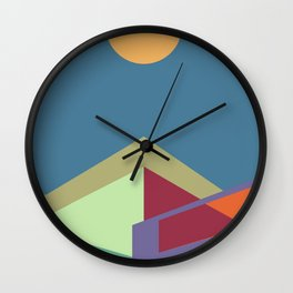 Living in the City Serie - Equilibrium Wall Clock