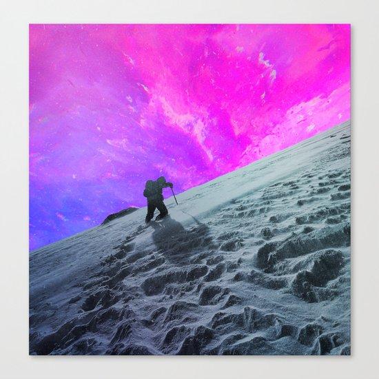 Lone Hiker Canvas Print