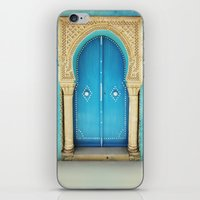 morocco iPhone & iPod Skins featuring Morocco Door by Diego Tirigall