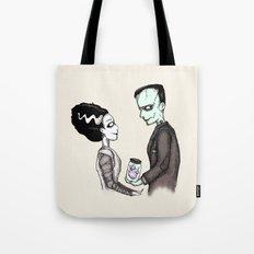 FrankenHeart Tote Bag