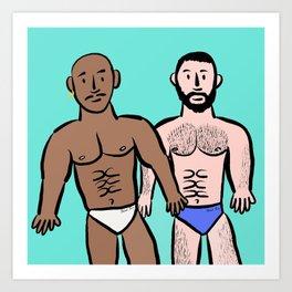 Beard Boy: Sam & Hector Art Print