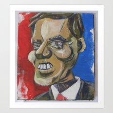 Mit Romney Abstract Art Print