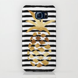 Pineapple & Stripes iPhone Case