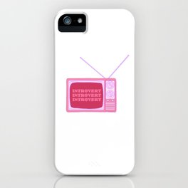 Introverted Broadcast iPhone Case