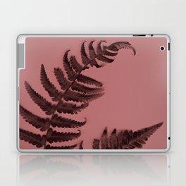 Fern on marsala Laptop & iPad Skin